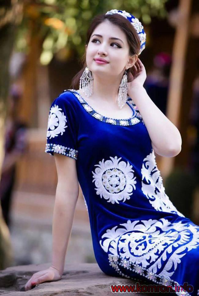 Kurta_chakan Tajik Girl