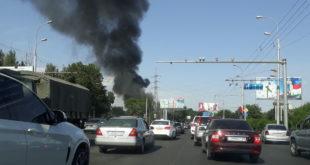 Ресторн-Чайхна Рохат сгорела в г. Душанбе вечером 26.06.2018