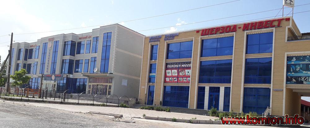 Новые магазины рядом с новым рынком города