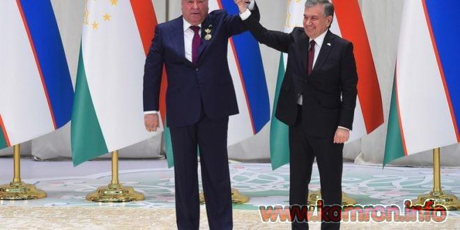 SHomi dusti – konsert dar Uzbekiston baroi Emomali Rahmon va SHavkat Mirziyoev