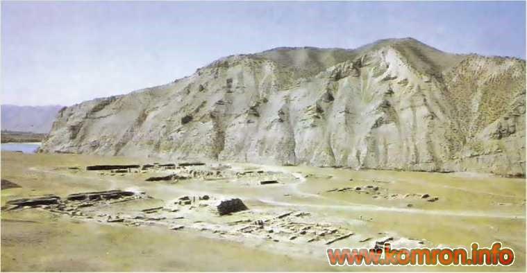 Развалины города Ай-Ханум. Афганистан