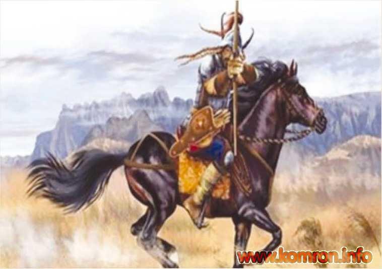 Карлукский воин