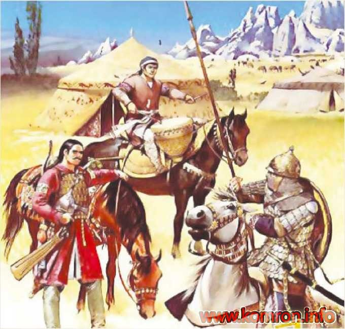 Воины Мукан-кагана