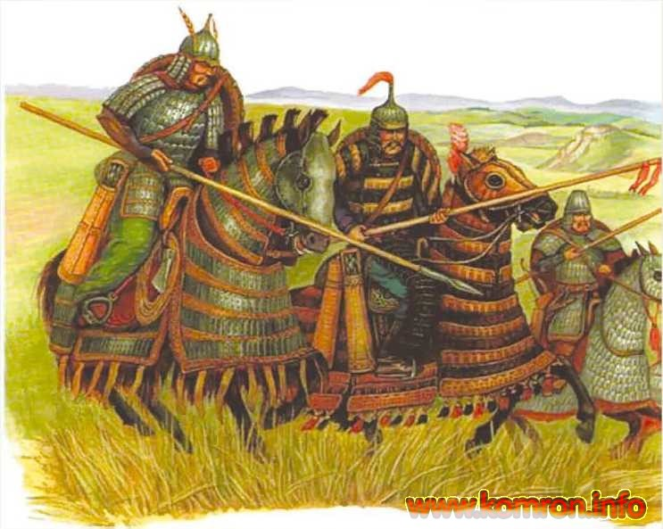 Тюркские воины