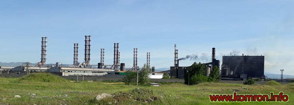 Алюминиевый завод в Таджикистане