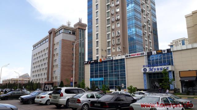 Сурати Шаҳри Душанбе: Марказ