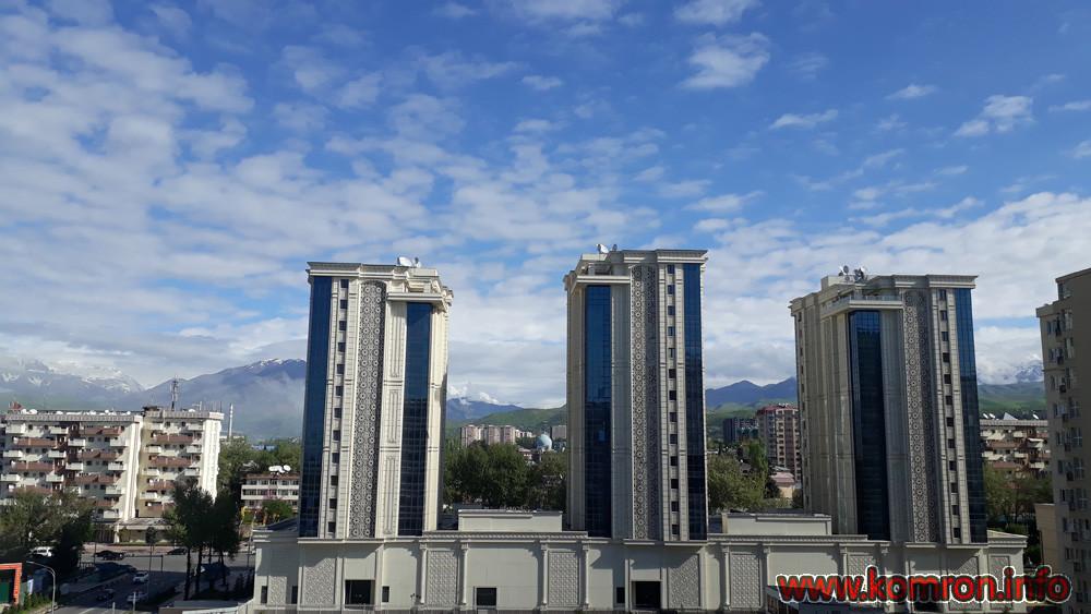 Биноҳои ҳзиразамонаи шаҳри Душанбе