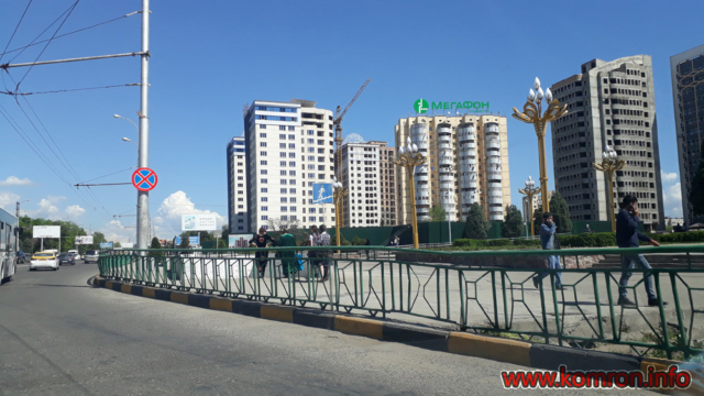 Сурати Шаҳри Душанбе: Назди Сирки давлати