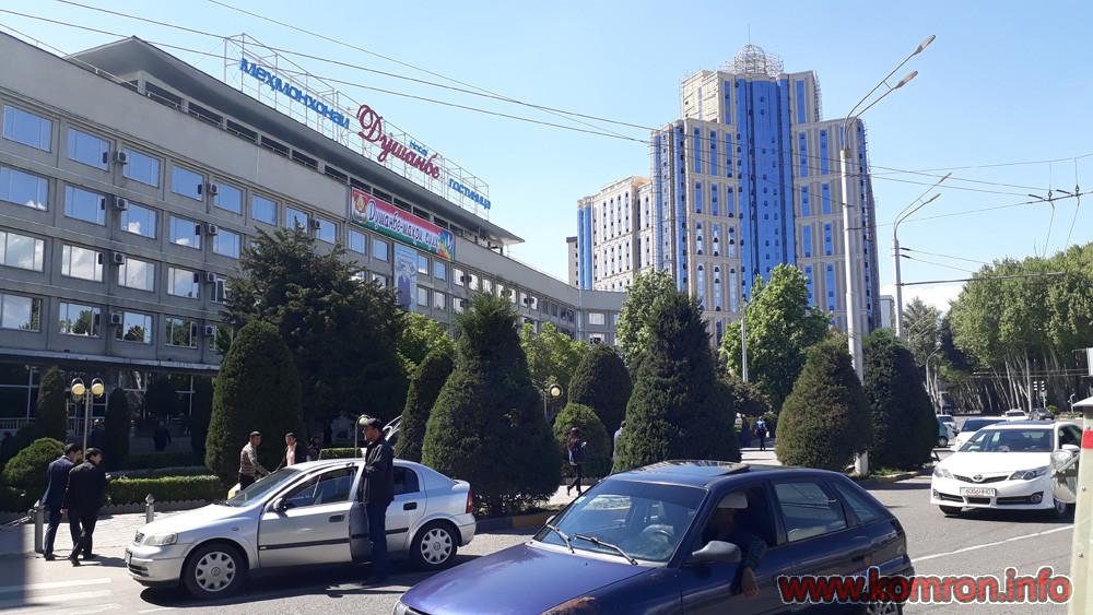 Мехмонхонаи Душанбе