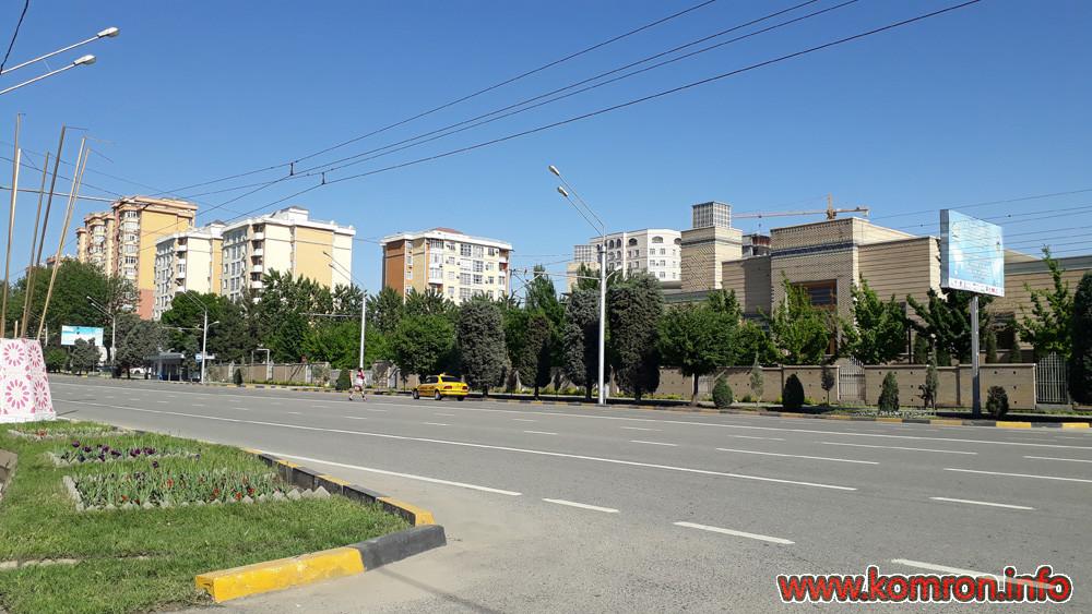 Ш. Душанбе: Хиёбни Исмоили Сомони