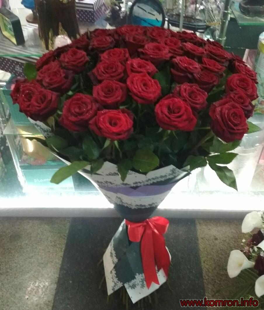 101 розы: Букет цветов для доставки по г. Душанбе