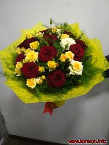 Бюджетные - недорогие букеты цветов