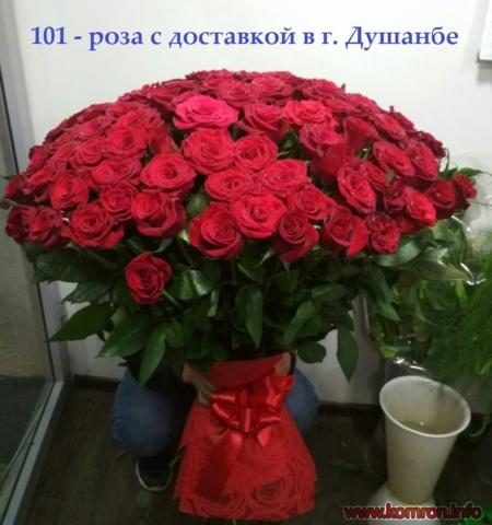 101 розы для для подарки