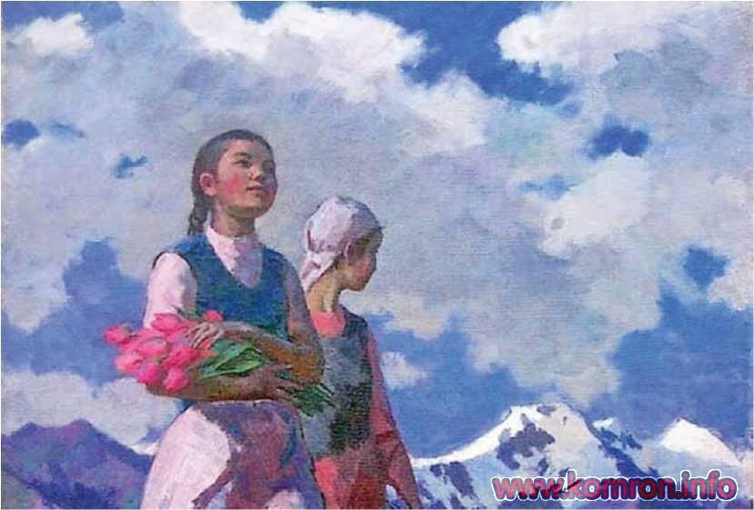 «Гулҳои Қирғизистон». С. Чуйков