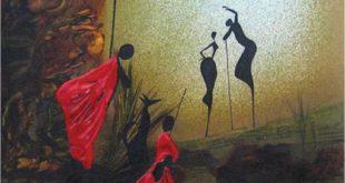 «Расмҳои рӯйисангӣ». Бернард Ндиху Нджугуна