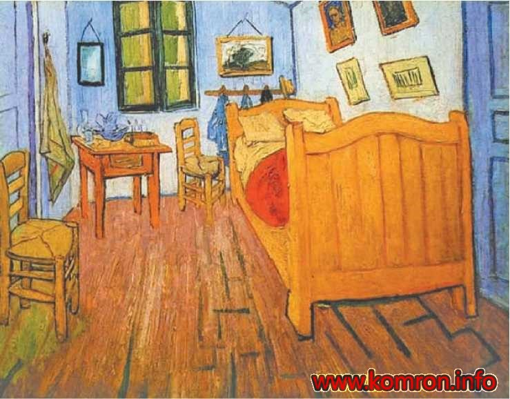 «Ҳуҷра». Ван Гог