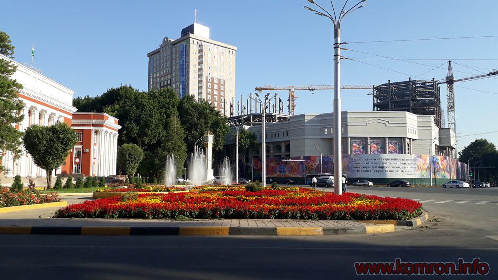 Бинои Парлумони Чумхурии Точикистон дар ш. Душанбе