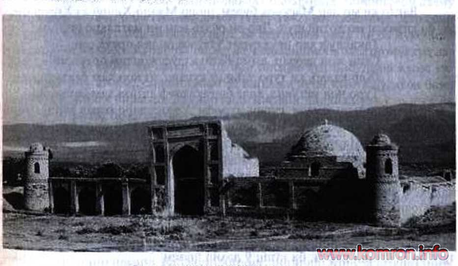Madrasan Kuhna dar Hisor /asri XVI/.