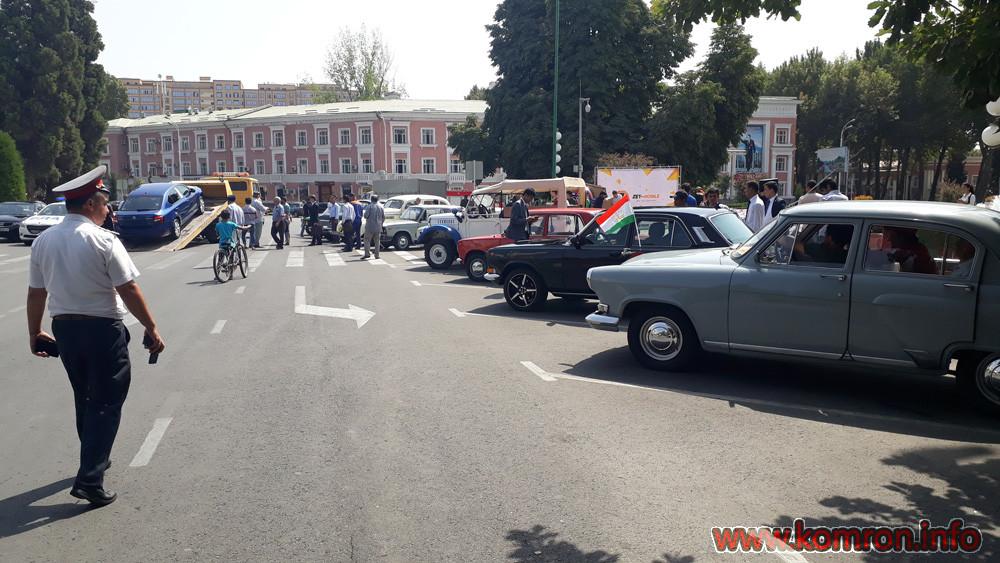Ретро автомобили в Душанбе