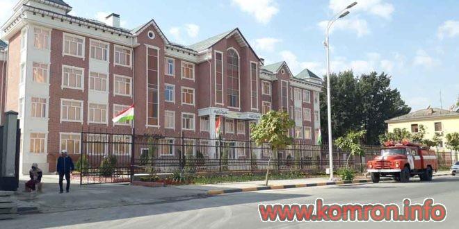 Maktabi 65 dar shahri Dushanbe