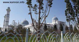 Масҷиди нав-калони шаҳри Душанбе