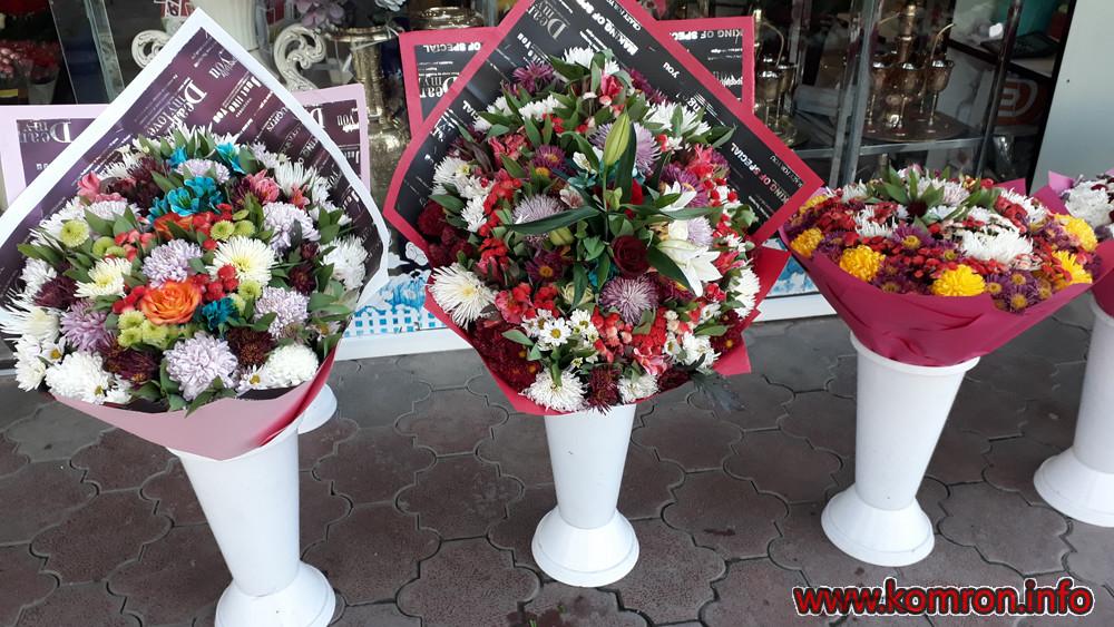 цветы от Цветочного магазина Райохон в Душанбе