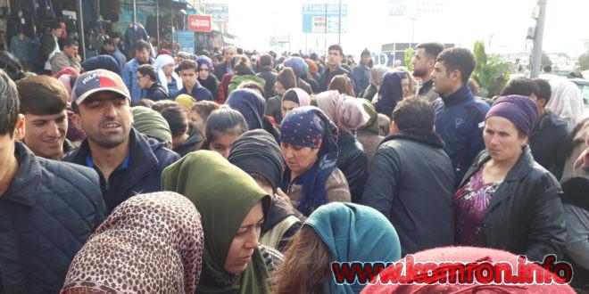 Bozori Korvon dar shahri Dushanbe