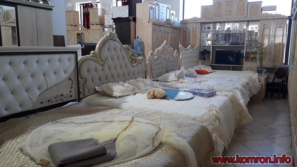 Хайтековские белые кровати по цене 399 $