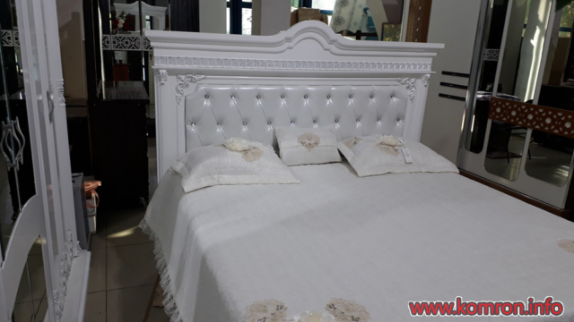Таджикские белые кровати по цене 400 $