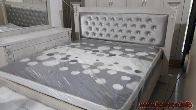 Квадратные белые кровати по цене 410 $