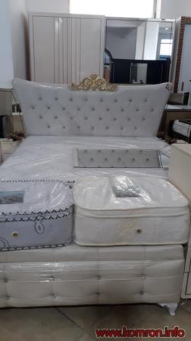 Королевский белый кровать по цене 420 $