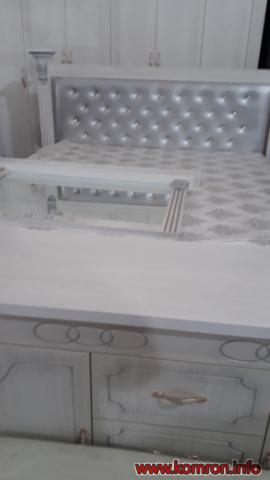 Квадратный белый кровать по цене 415 $