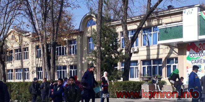 Мактаби 100 дар Душанбе