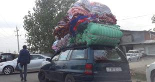Опел Караван в Таджикистане как Осёл