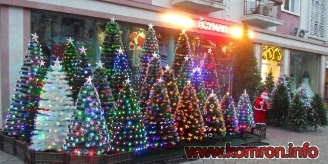 Купить искусственную елку в Душанбе