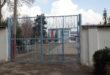 Фото ворот школы 78 в Душанбе декабр 2019 год