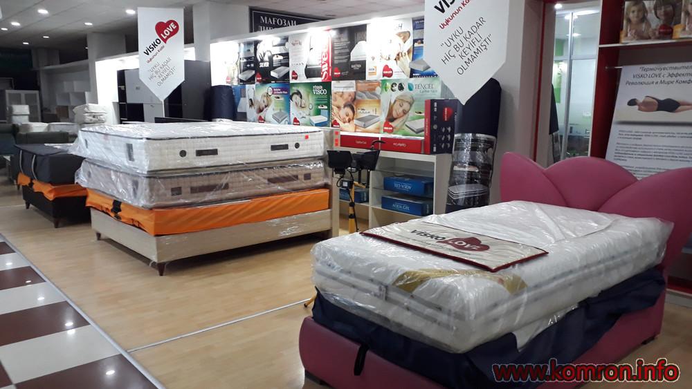Мебельный салон Visko Love в Душанбе