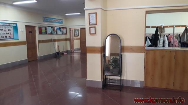 коридор Русская школа 7 в городе Куляб