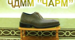 Самая большая ботинка в Таджикистане