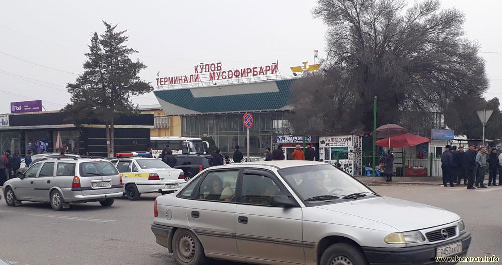 Автовокзал города Куляб