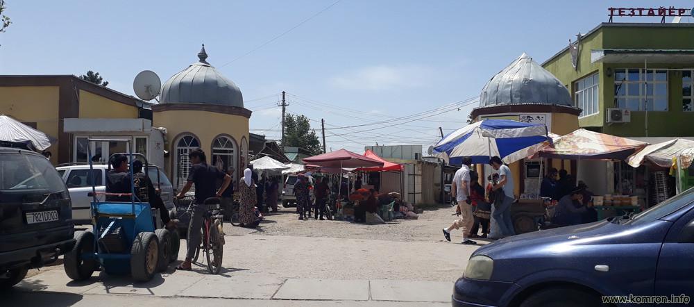 Бозори шаҳри Данғара