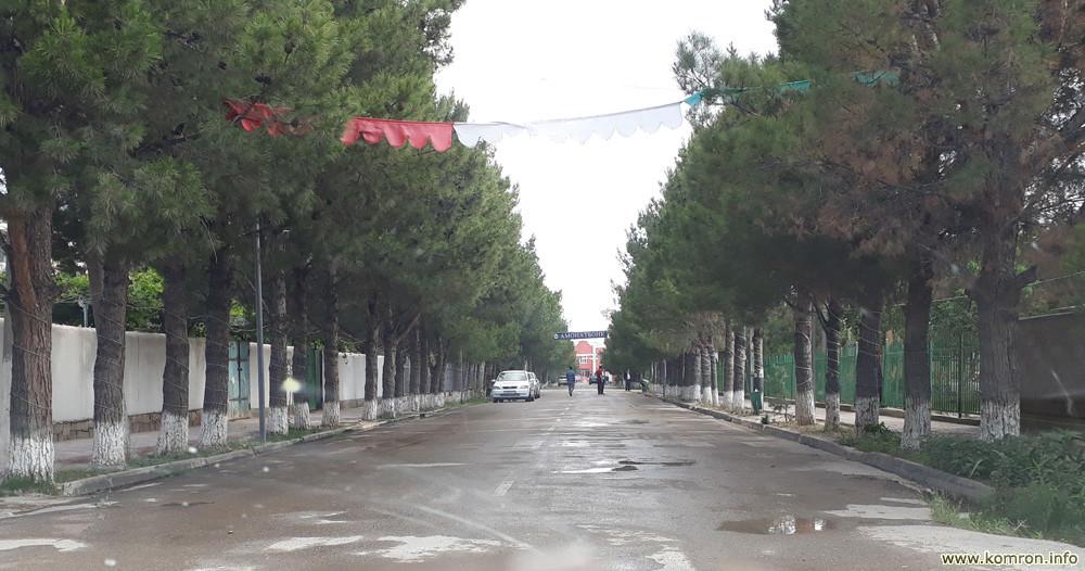 Кӯчаи асосӣ -марказии ноҳияи Носири Хусрав