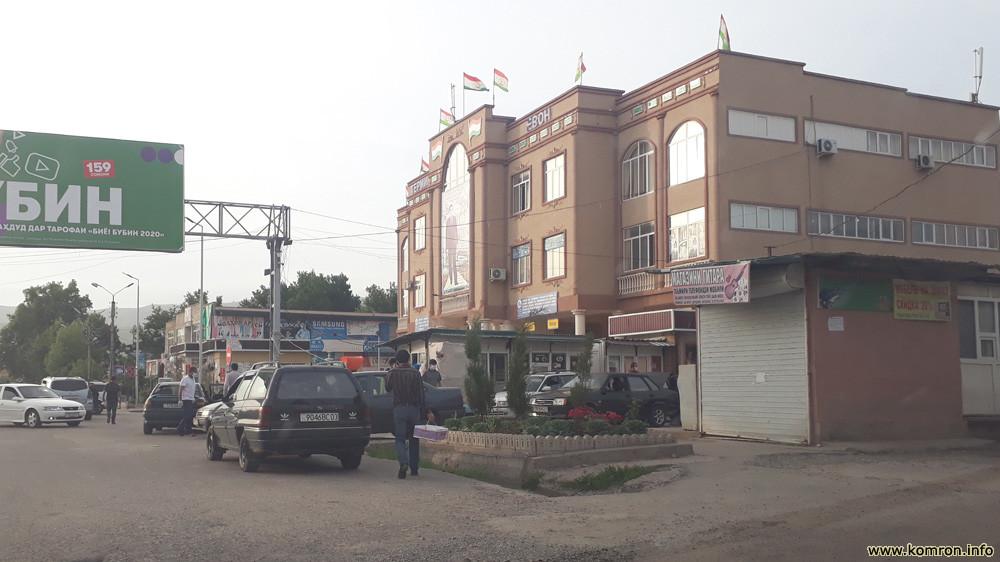 Терминали марказии шаҳри Ёвон (Автовокзал)