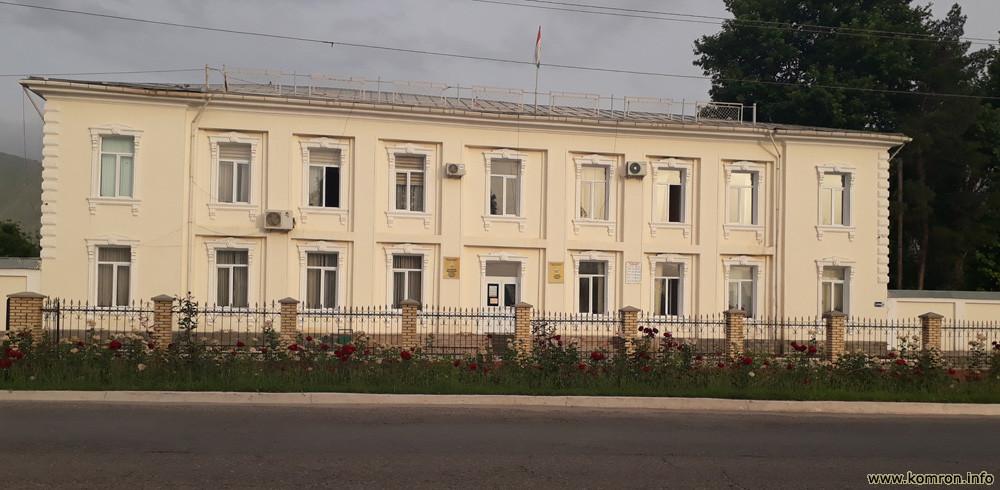 Бинои маъмурияти ноҳияи Ёвон (Ҳукумат)