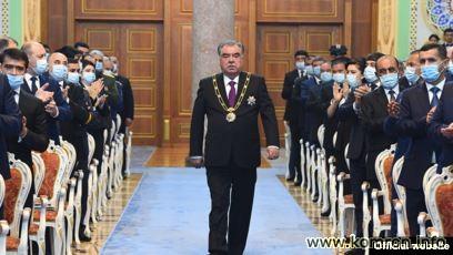 Последняя инаугурация Президента Таджикистана- Эмомали Рахмона (2020г.)