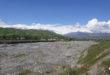 Река Ширкент в Таджикистане