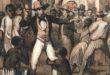 History of Slavery - Plantation Master at the Slave market